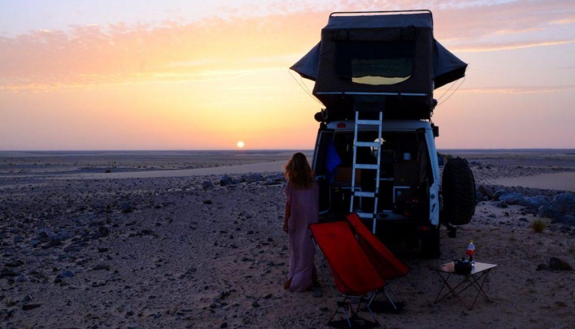 LOST TRACK Reiseblog Afrika Weltreise Overlander Life on the road Mauretanien Sahara Wüste, Toyota Land Cruiser Trekology Hannibal